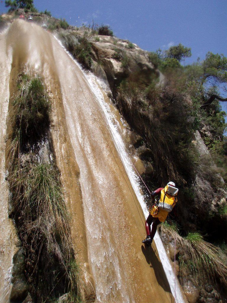 Barranquismo malaga rio verde